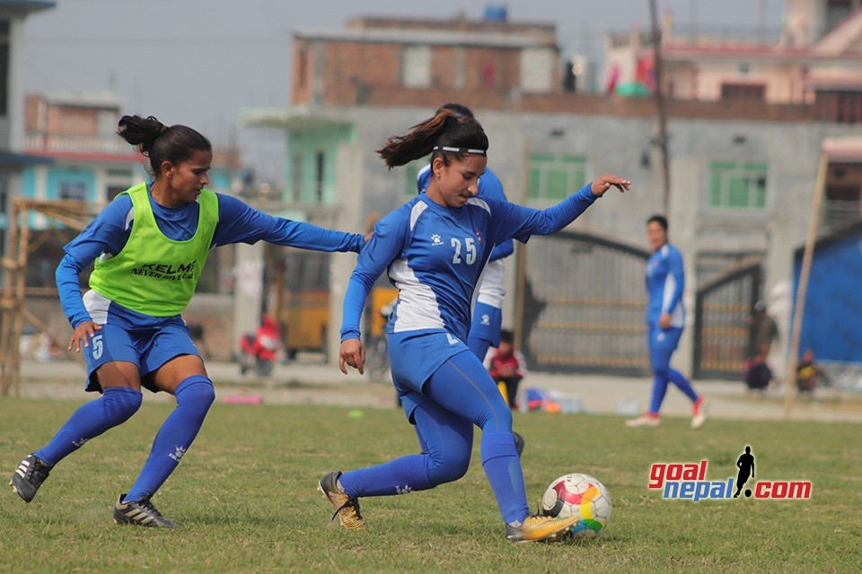 Nepal Women's Team Intensifies Training For SAFF Women's Championship 2019