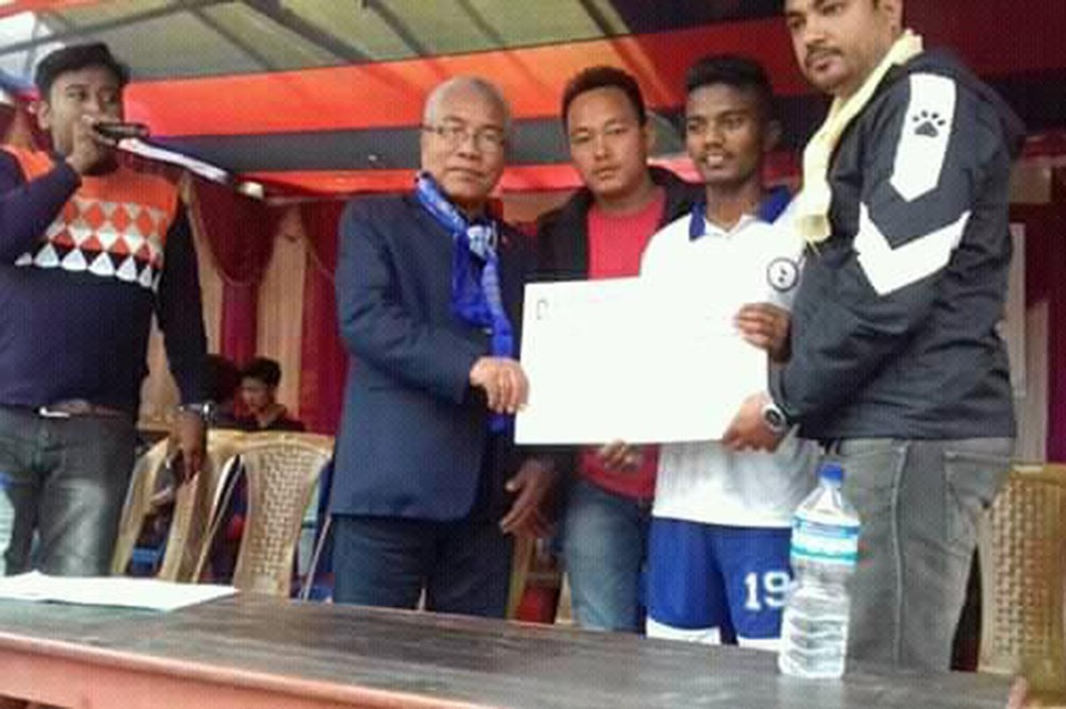 Jhapa: Munal FC Enters SFs Of District Wide Championship