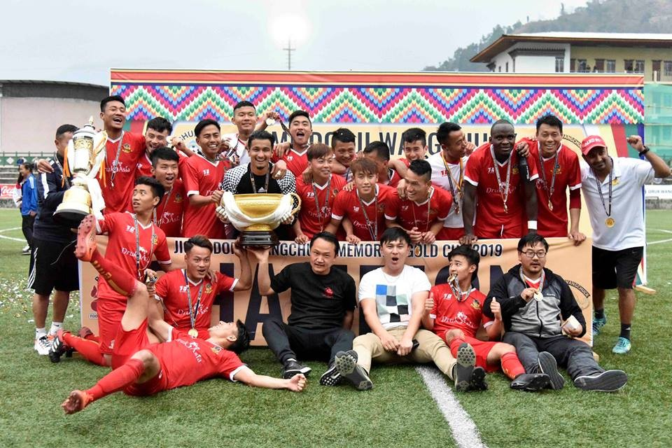 Arpan Karki Wins Jigme Dorji Wangchuk Memorial Gold Cup With Paro FC