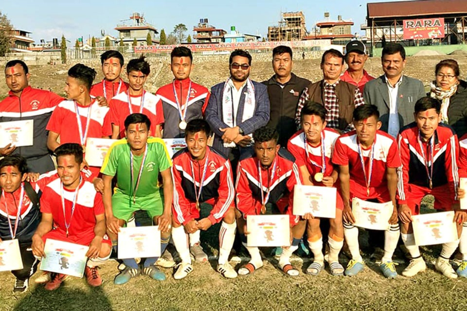 Lamjung Clinches First Position In Gandaki Province Men's Selection