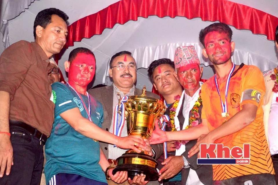 Nawalparasi: Ward Number 8 Wins Title Of 2nd Sunawol Mayor Cup