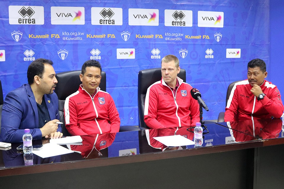 Nepal Coach Johan Kalin: We Want To Play For A Win Against Kuwait