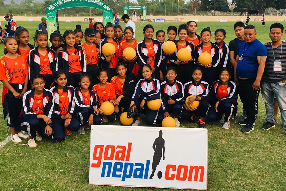 GoalNepal Foundation Motivates Women's Team Of Bagmati Yuwa Club, Sarlahi