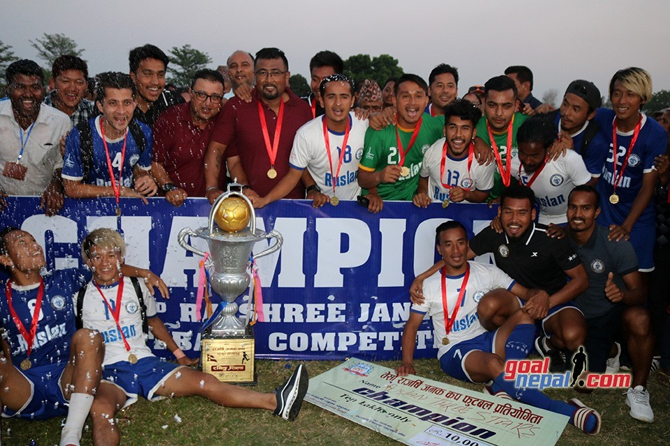 3rd Rajarshi Janak Cup: Ruslan Three Star Clinches The Title