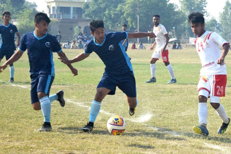 8th National Games: Nepal Army, Nepal APF Register Win