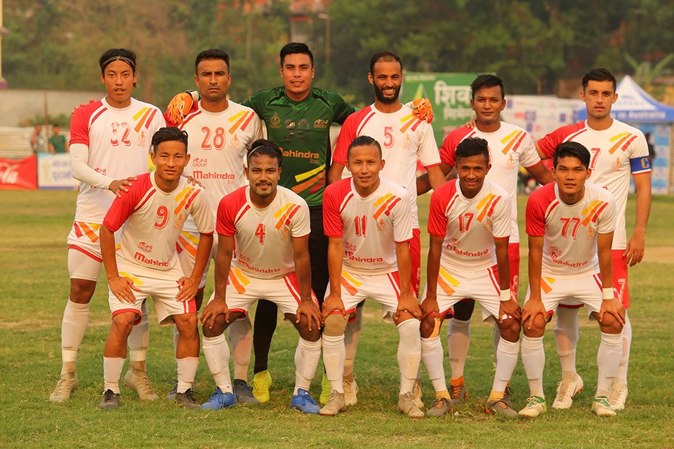 Nepal APF Enters SFs Of CMS Bharatpur Gold Cup