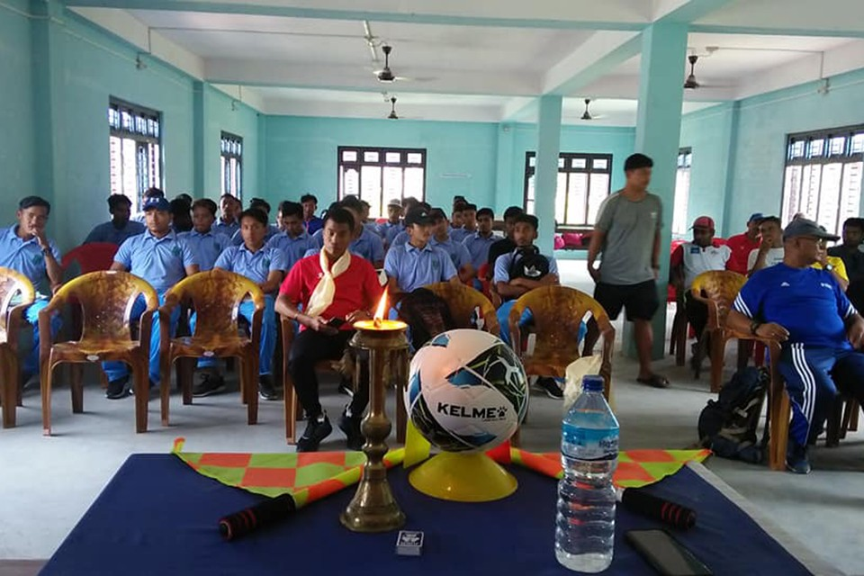 Province 1 Referee Training Course Kicks Off At Kakarvitta, Jhapa