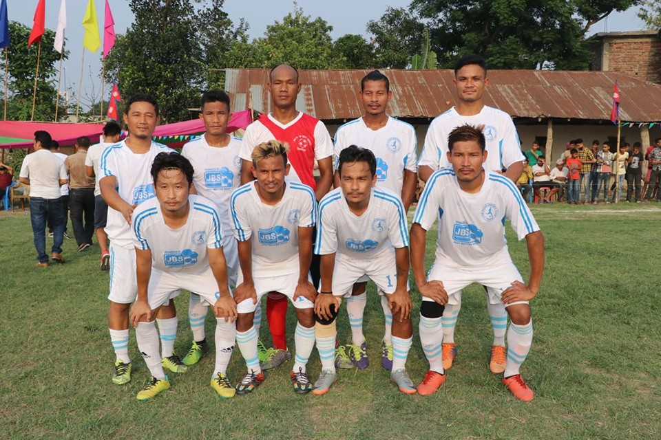 Morang: Itahari Veterans Clinches Title Of Amardaha Dhalke Joban Cup