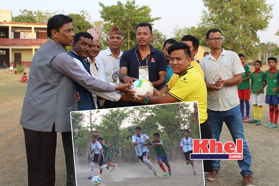 Bardiya: U13 Football Tournament Kicks Off