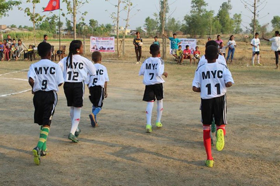 Bardiya: Kalika Community Library Resource Centre Vs Mayur Youth In The Final Of U13 Championship
