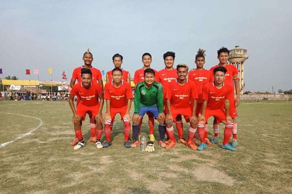 Siraha: Dhankuta FC Enters SFs Of Siraha Mayor Cup