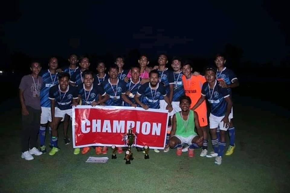 Dang: Success FC Wins Title Of District League
