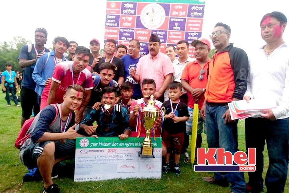 Rupandehi: DMC Tulsipur Wins Title Of 1st Tilottama Mayor Cup