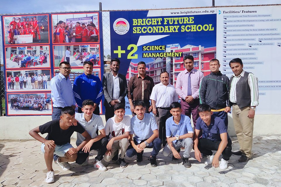 Bright Future +2 Provides Scholarship To 10 U16 National Team Players