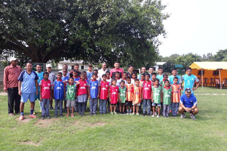 Grassroots Football Program Kicks Off In Saptari