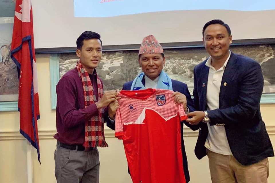 UK: Nepal International Bikram Lama Takes Part In Program Organized By Nepal Embassy