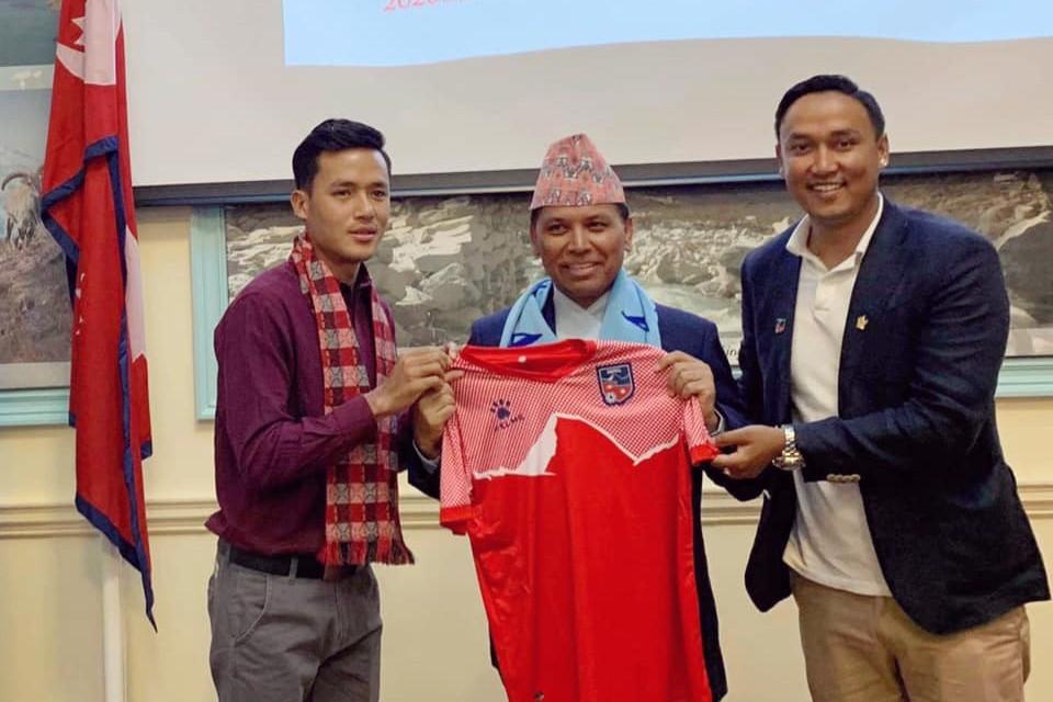 UK: Nepal International Bikram Lama Takes Part In Program Organized By Nepal Embassy