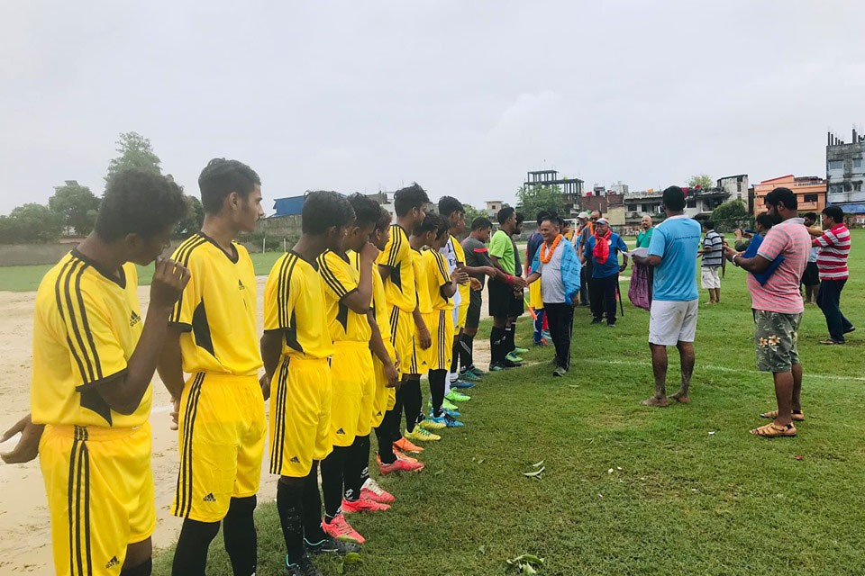 Parsa: Yuwa Sports Club Beats Birta XI Star Club In District League