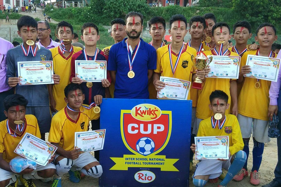 Gorkha: The Old Capital Wins Title Of Kwiks Cup