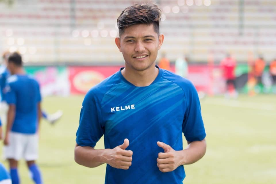 Nepal International Bimal Gharti Magar Returns Home To Join The Team