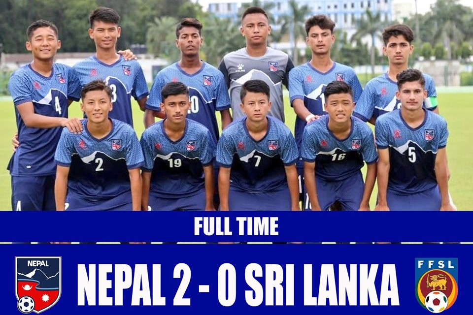 SAFF U15 Championship 2019: Nepal U15 Keeps Hopes Alive For Final