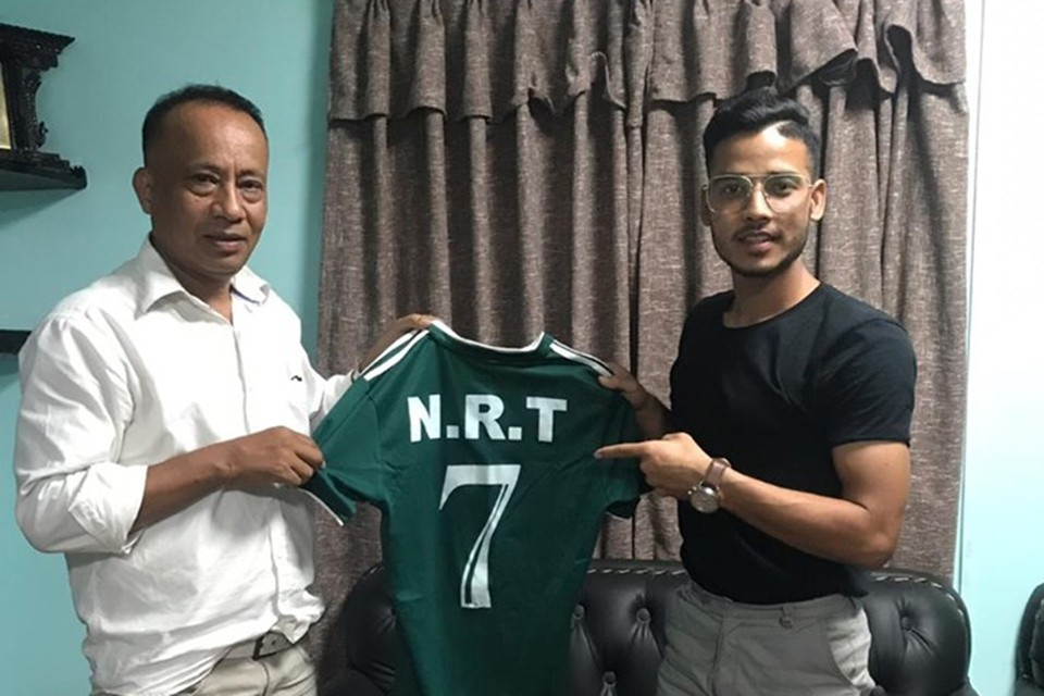 NRT Signs Prakash Budhathoki For A New League Season