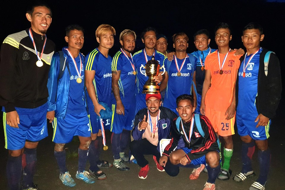 Panchthar: Red star Birtamod Wins Title Of Ranitar Gold Cup