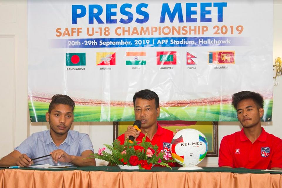 Nepal U18 Coach Chet Narayan Shrestha: Plan Is To Defend The Title