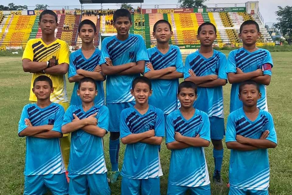 Sunsari: ANFA Academy Dharan Enters FINAL Of ANFA Academy Cup
