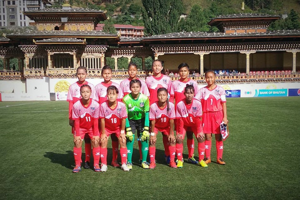 SAFF U15 Girls Championship: Nepal Loses To India