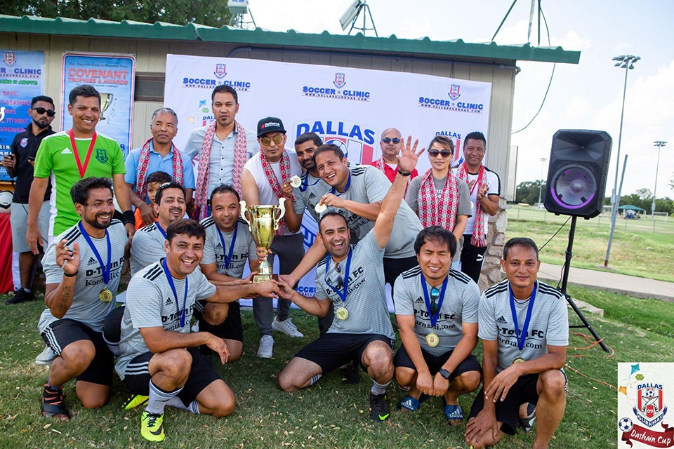 USA: S3S Sunnyvale Football Force Wins 8th Dashain Cup 2018