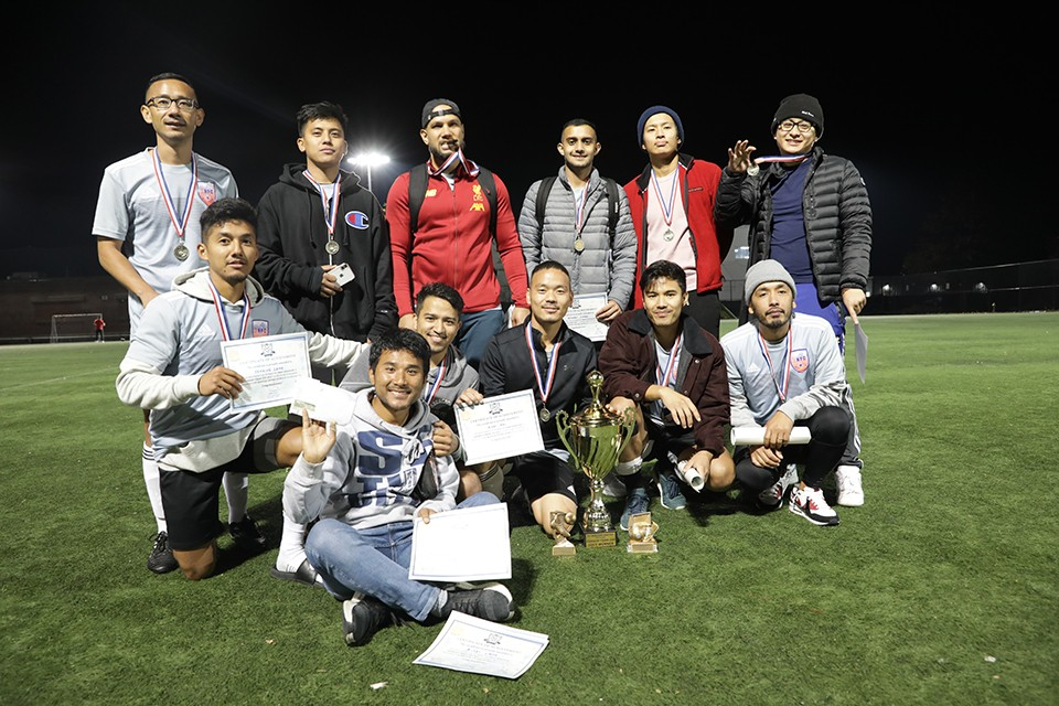 USA: Boston Nepalese FC Wins The Title Of Dashain Tihar Cup 2019
