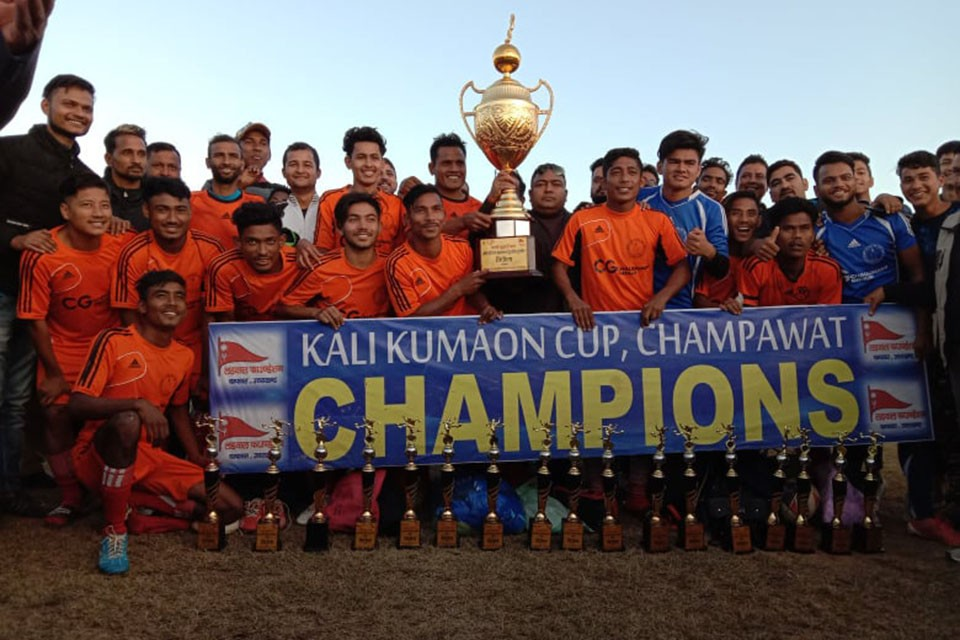Kailali: Far West XI Sports Club Wins Title In Kumaon, India