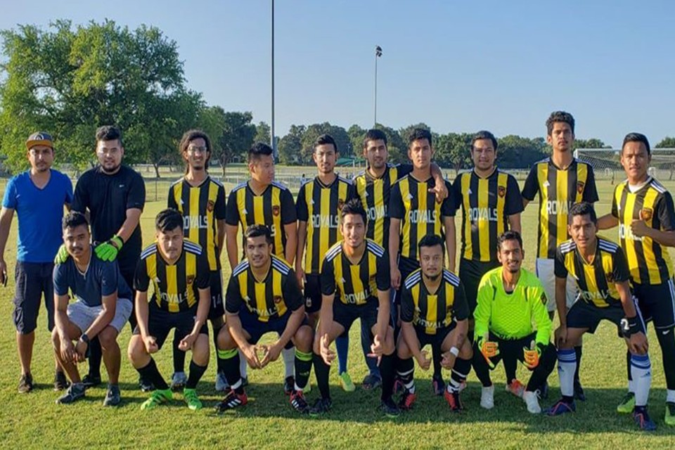 USA: Royal Nepal FC Bows Out From Grapevine Metro Soccer League