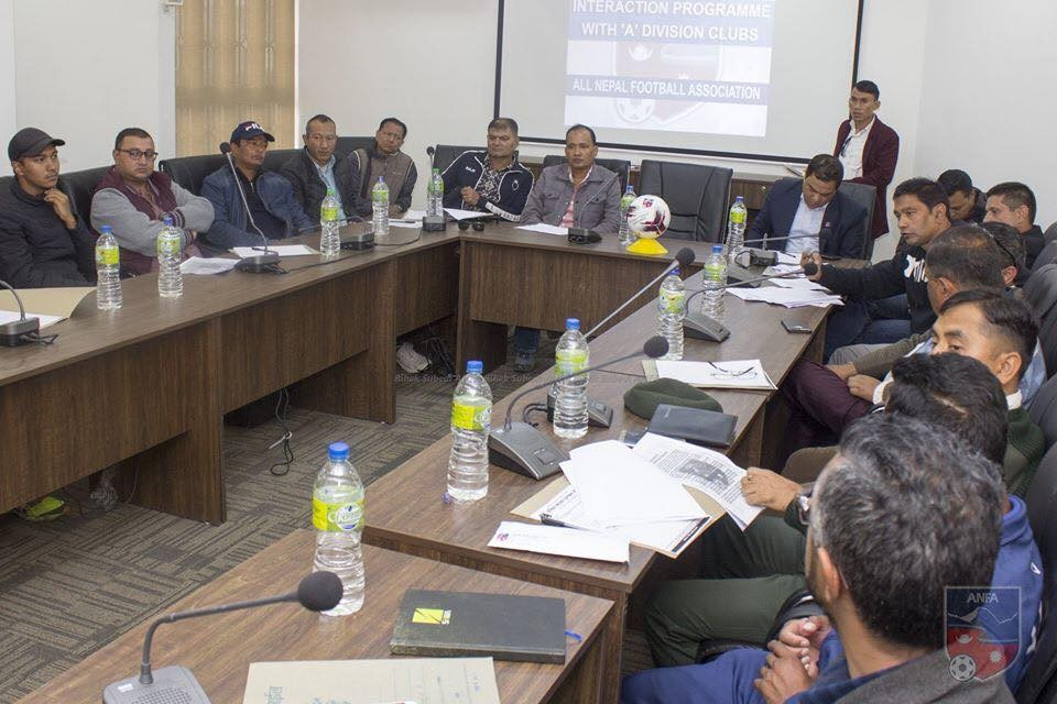 ANFA Holds Meeting With 14 A Division Clubs For Martyr's Memorial League