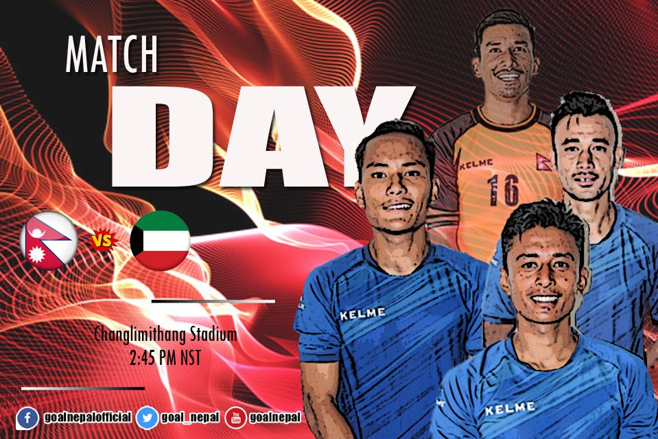 MATCH DAY ! Nepal Vs Kuwait In Thimphu At 2:45 PM NST