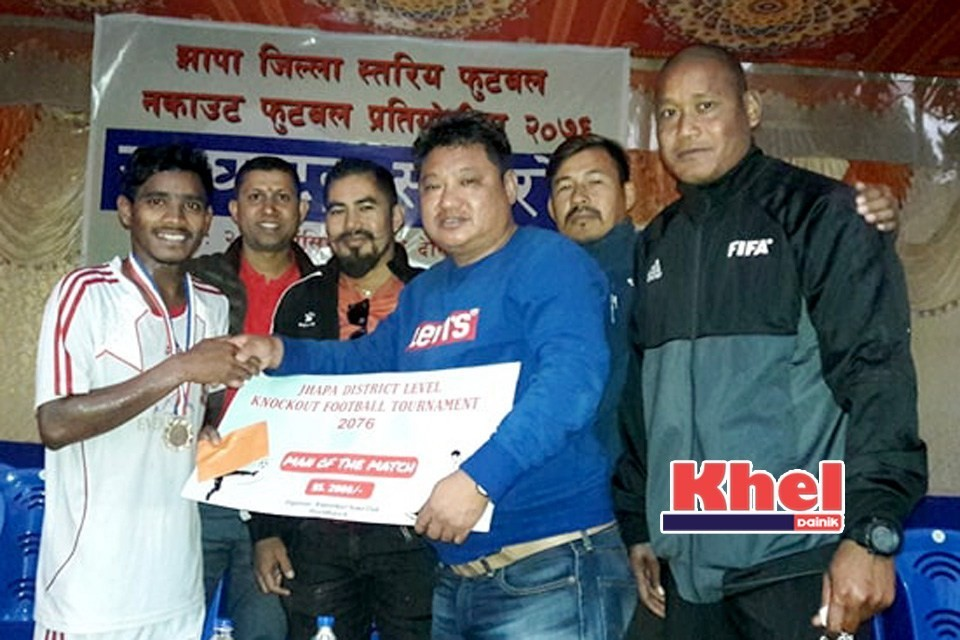 Jhapa FC Enters Final Of Knockout Football Championship
