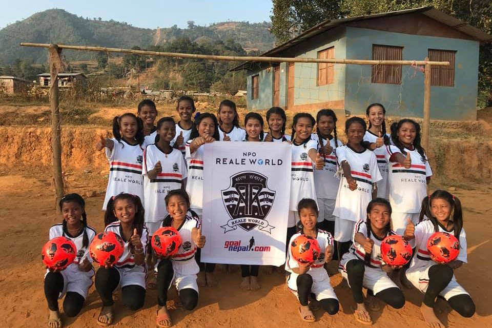 GoalNepal Foundation Supports Girls Football Team Of Setidevi Secondary School, Bodgaun, Sindhupalchowk