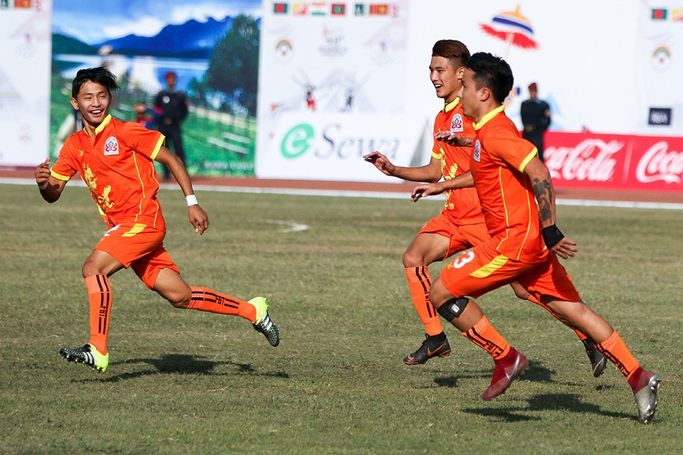 13th SA Games 2019: Bhutan Stuns Maldives; Stay Atop