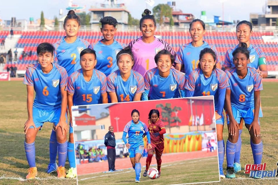 13th SA Games 2019: India Women's Team Thrashes Sri Lanka