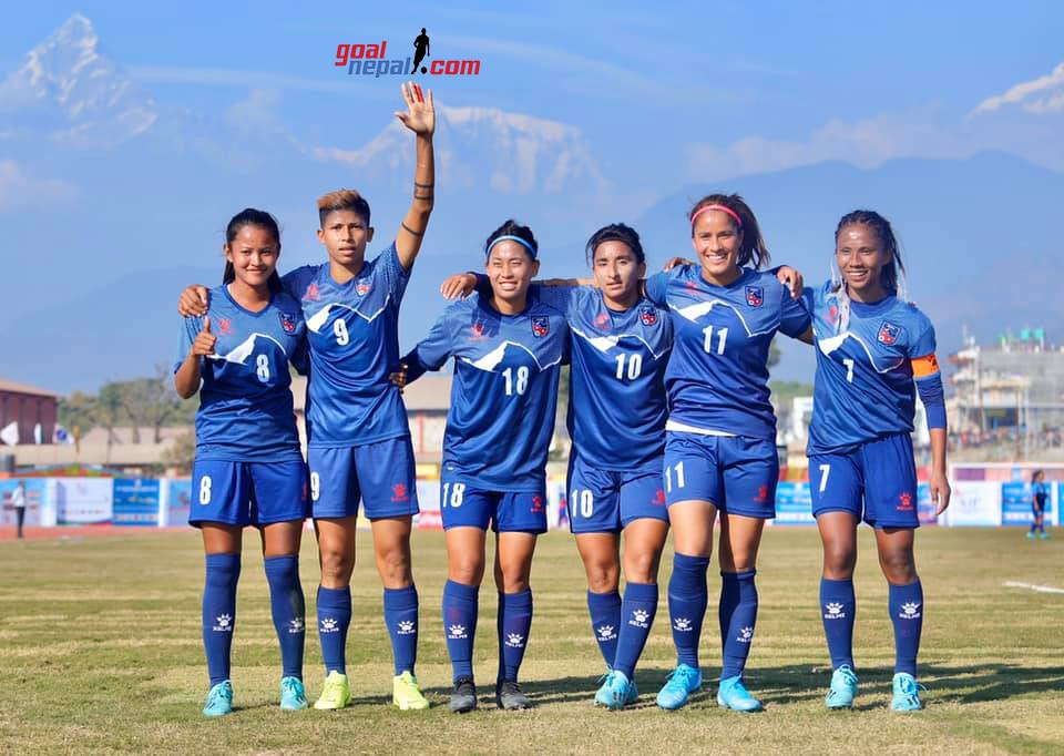 Nepal Women's Team Continue Winning Streak; Sets Final Date With India