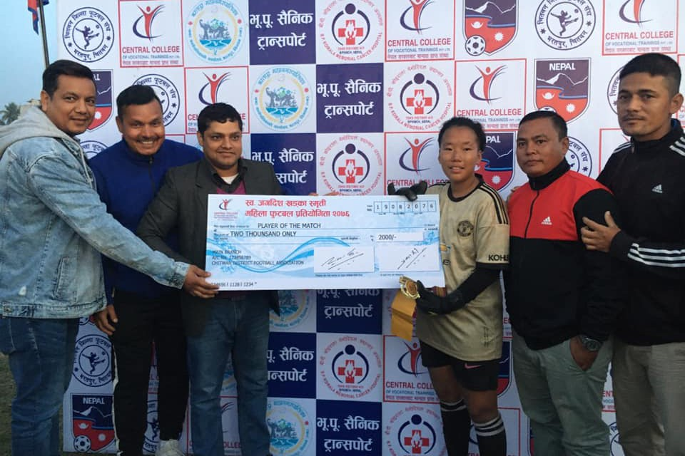 Chitwan: Everest Club & Makwanpur Women's Enter Final Of Late Jagdish Khadka Memorial Cup