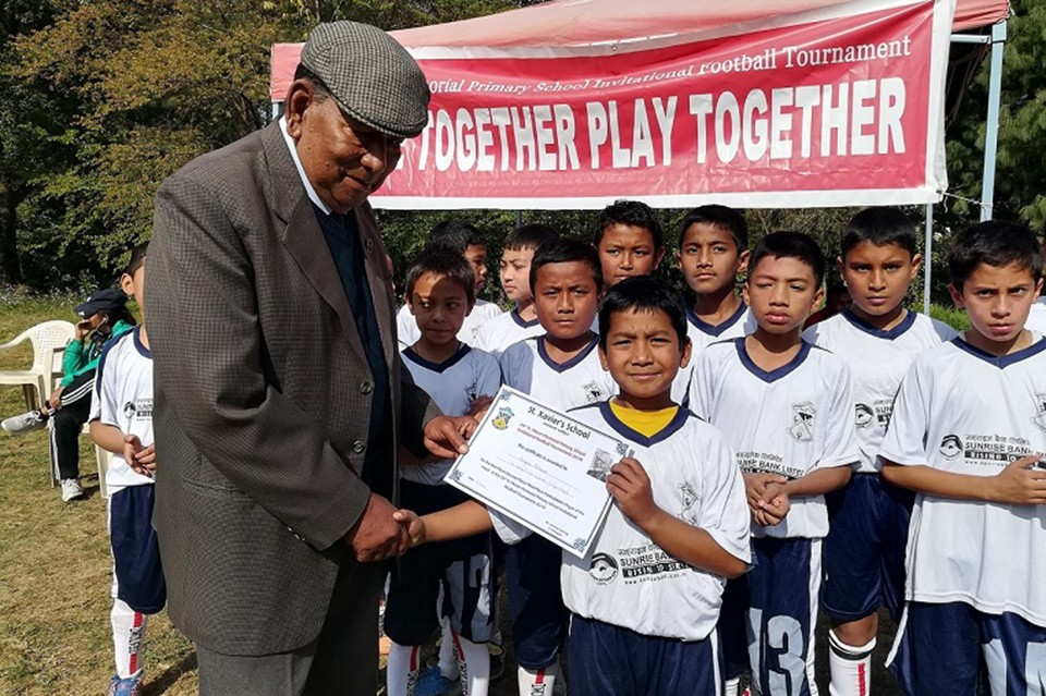 Lalitpur: 24th Edition Of Fr. Moran Memorial Primary Level School Tournament Kicks Off