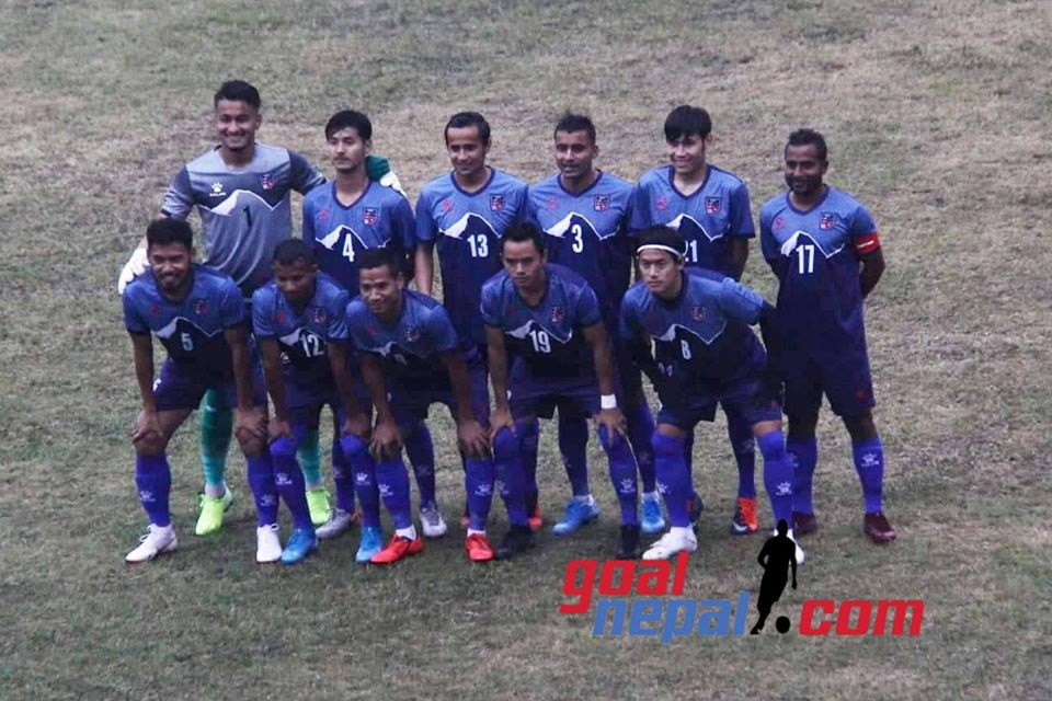 Japan Football League Thrashes Nepal Blue In A Friendly Match