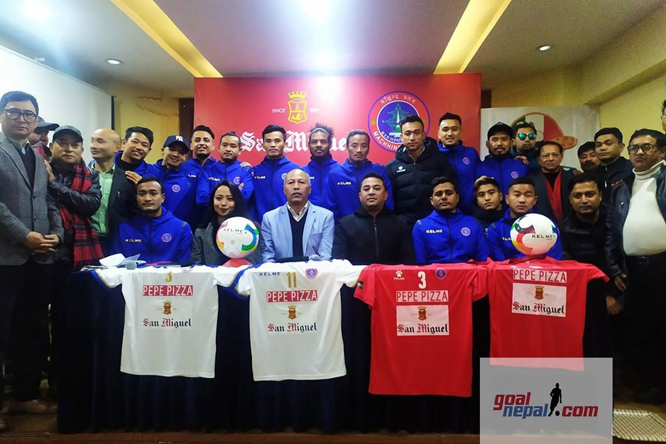 San Miguel Becomes Official Sponsor Of Machhindra FC