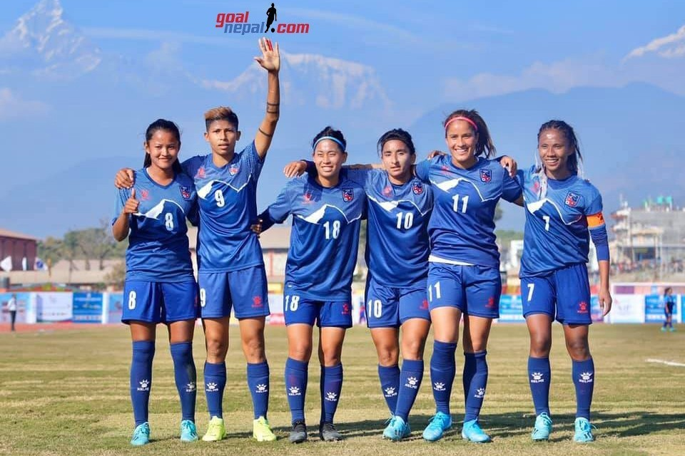Nepal Women's Team Moves 3 Position Up To 97