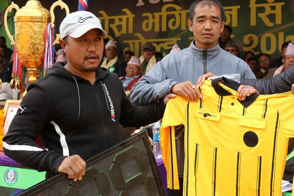 GoalNepal Foundation Supports Referees From Terathum District