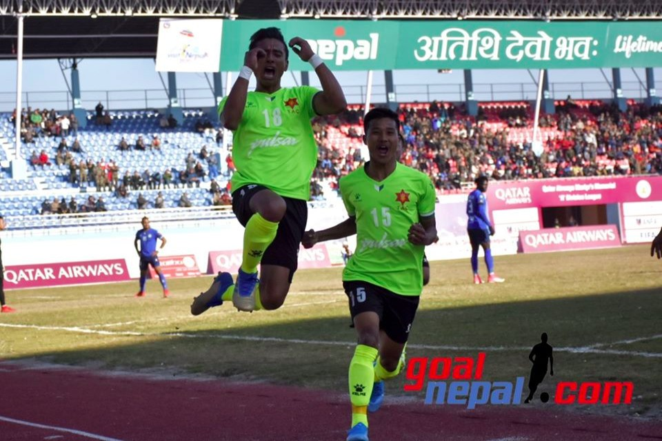 Martyr's Memorial A Division League: Nepal Army Fails To Go Atop