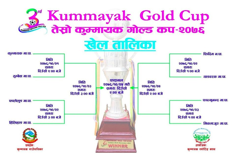 Panchthar: 3rd Kummayak Gold Cup Kicks Off Today