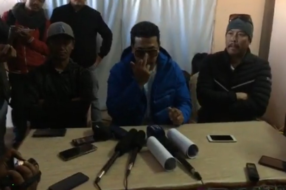 MLA Rajiv Gurung Defends His Action Against Kaski DFA President (With VIDEO)